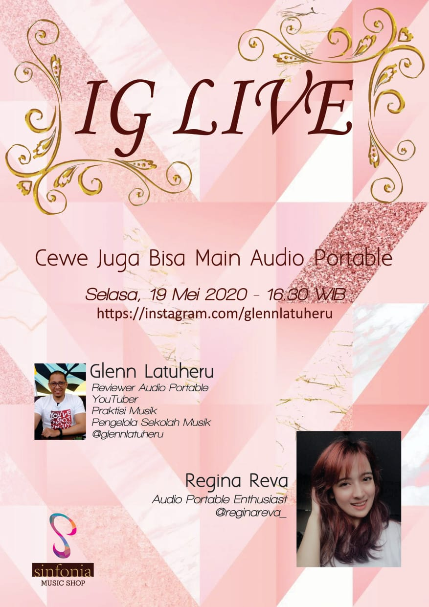 IG Live Bareng Regina Reva Audio Portable Enthusiast