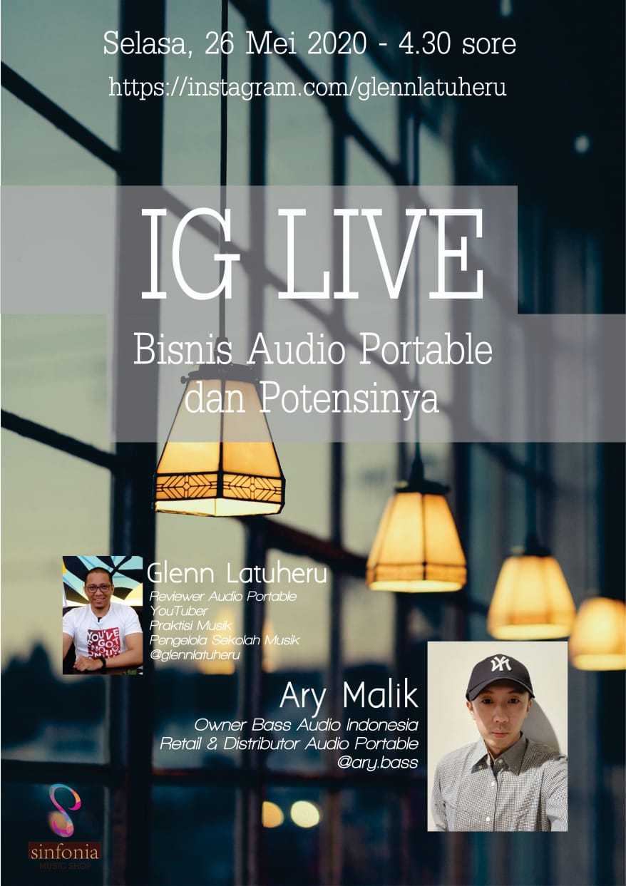 IG Live Bareng Ary Malik, Owner Bass Audio