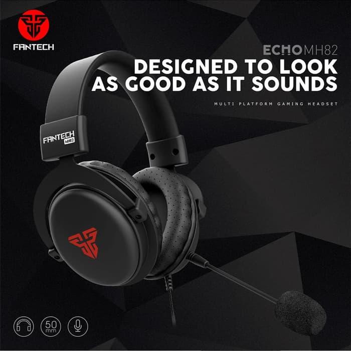 Headphone Audio dan Gaming Fantech MH82