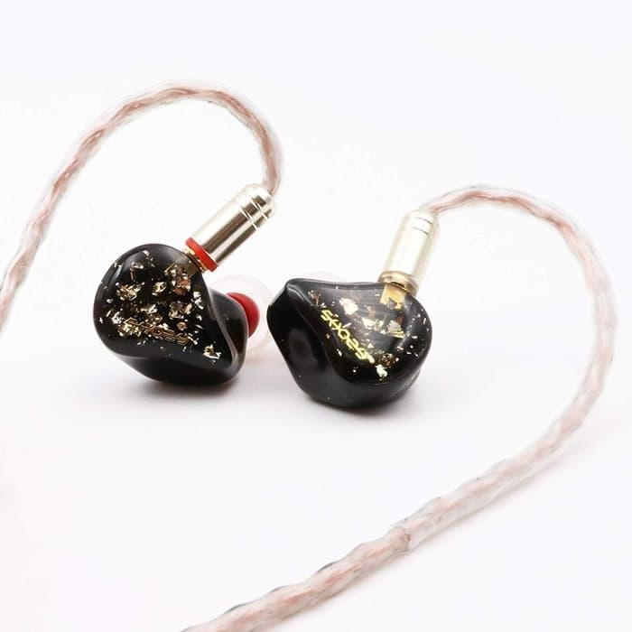 SHOZY & NEO BG 5BA HiFi In Ear Monitor Earphones Detachable Cable 2 Pin